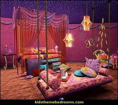 I Dream of Jeannie bedroom decorating ideas - moroccan furniture