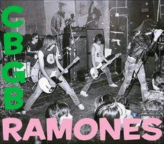 #Ramones en el #CBGB
