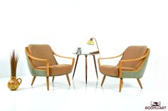 Pair of Easy Chairs from the 50s