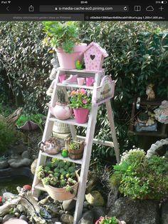 Step ladder idea. Love it x