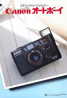 """Canon AF35M """"Autoboy"""" (1979)"""