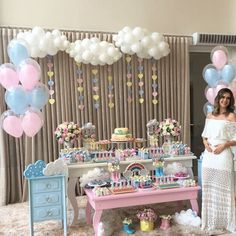 Baby Shower Temas Flores 23 Ideas For 2019 Idee Baby Shower, Shower Bebe, Baby Boy Shower, Shower Party, Baby Shower Parties, Baby Shower Themes, Shower Ideas, Deco Buffet, Baby Gender Reveal Party