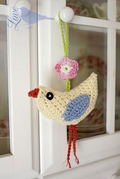 this little bird was fun to make...