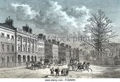 The north side of Grosvenor Square, 18th century, Mayfair, West End of London, City of Westminster, England