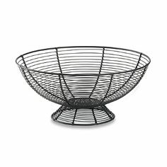 New American Round Fruit Bowl - BedBathandBeyond.com. $9.99 great reviews will be useful for fruits but also for tomatoes, onions and potatoes too.