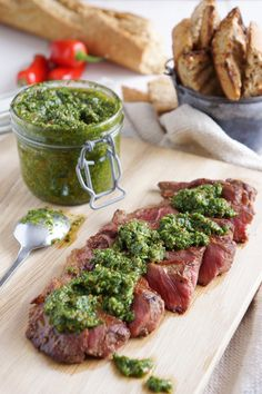 Chimichurri is one of those versatile sauces that can easily become a cornerstone of your repertoire. It tastes fabulous, is full of healthy ingredients, goes with almost anything and keeps for a w...