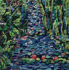 Monet's Garden Mosaic