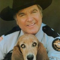 James Best (Born Jules Guy, July 26, 1926) is an American actor best known for his role as bumbling Sheriff Rosco P. Coltrane in the CBS television series The Dukes of Hazzard.  Born in Powderly, KY  His mother was the sister of Ike Everly, the father of the pop duo the Everly Brothers.