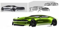 Muscle cars Pt/1 on Behance