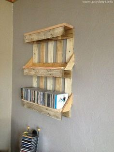 one is again a bit different pallet wood creation that is basically book rack. Its multi tiers provide you plenty of space for your books, while…