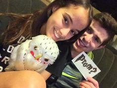 He promposed with Hedwig