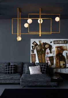 The color and the light. This is lighting! See more inspiring lamps here…