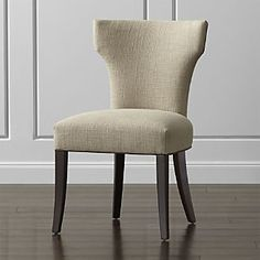Sasha Upholstered Dining Chair with Leather Welt