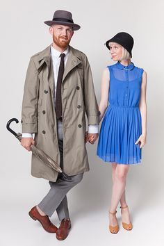 couples costumes! Singing in the Rain!