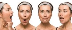 Face yoga involves facial exercises of the entire face, scalp and neck. In simple words it is a natural face lift - work out for the facial muscles aiming at keeping the muscle tone. Facial Muscle Exercises, Do Facial Exercises Work, Face Exercises, Facial Muscles, Natural Face Lift, Facial Yoga, Face Massage, Sagging Skin, Tips Belleza