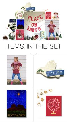 """Peace On Earth"" by sheila-ball ❤ liked on Polyvore featuring art, peace and etsy"