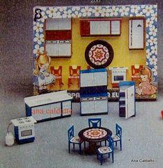 Infância anos 80 - Móveis Elka - Cozinha