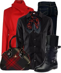 """""""Plaid 1"""" by justjules2332 ❤ liked on Polyvore"""