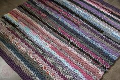 carpet made of used clothes - 100% recycling
