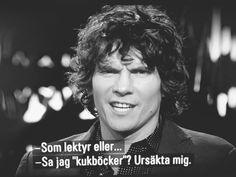kukböcker + Håkan Hellström
