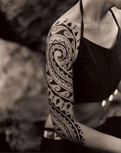 Maori Tattoos for girls (36)