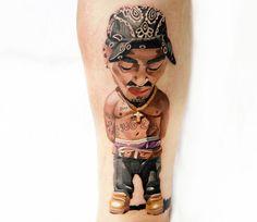 Realistic Tattoo by Denis Tidan Torikashvili | Tattoo No. 13050