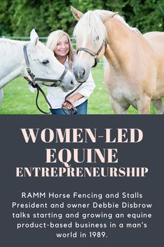 President and owner of RAMM Horse Fencing and Stalls, Debbie Disbrow, gives her candid and humble account of starting and growing an equine product-based business in a man's world in 1989. Horse Fencing, Daughters Of The King, All The Pretty Horses, Horse Farms, Mans World, Cowgirls, Equestrian, Fence, The Past