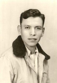 Navajo Code Talker Joe Morris Sr., ca. 1942