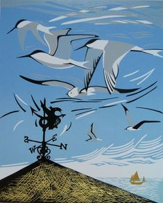 Northerly Wind - http://www.pamgrimmond.co.uk/