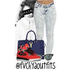 Untitled #961, created by fashionkillas on Polyvore
