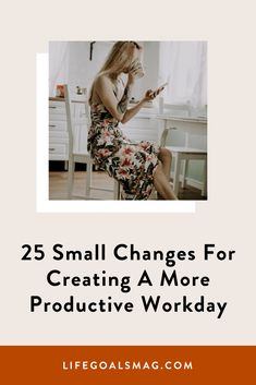 25 Small Changes For Creating A More Productive Workday Career Goals, Life Goals, Pomodoro Method, Time Management Strategies, Balanced Life, Productive Day, Study Ideas, Cover Letter For Resume, Small Changes
