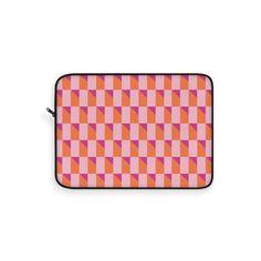 Pink Bauhaus Laptop Sleeve – WavyBazaar