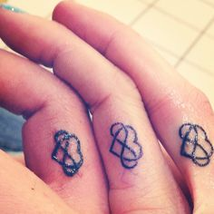 @Angela McCall & @Nicole Wanner sister tattoo? Maybe different location?