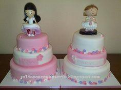 JuLiasCA Boutique de tartas: Doble tarta de comunión