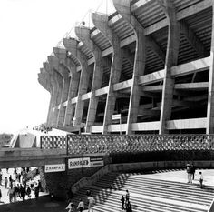 estadio azteca / pedro ramirez vazquez: father of mexican modern architecture,1919-2013 #architettura #storia #mexico