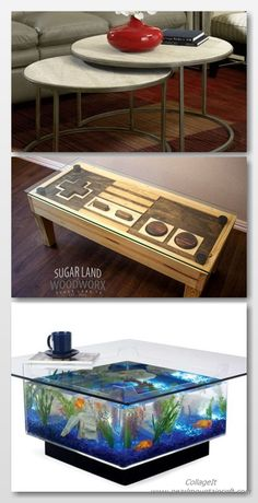 Coffee table decorating ideas can turn that cluttered tabletop into a design feature to be proud of. Enjoy the best designs for Unique Coffee Table, Coffee Table Styling, Rustic Coffee Tables, Diy Coffee Table, Decorating Coffee Tables, Making Out, Tabletop, Highlight, Repurposed