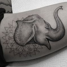 Elephant Tattoo - 55 Elephant Tattoo Ideas | Art and Design
