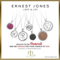Lucet Mundi - Pin it to Win it! Terms & Conditions: http://www.ernestjones.co.uk/webstore/static/customerservice/terms_and_conditions.do#pinit