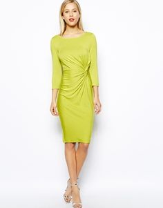 Image 4 of Oasis Twist Drape Dress