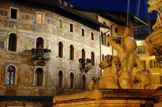 Fontana del Nettuno, #Trento, Italy. Agosto 2010