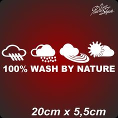 ,1x,Aufkleber,Sticker,Hand wash only,JDM,OEM,Dub,Auto,Style,Hand Wash be Nature