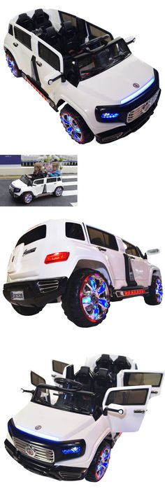 Toy Vehicles 145946: 2017 2-Seater 4-Door 12V Battery Powered Electric Ride On Kids Toy Car Remote Rc -> BUY IT NOW ONLY: $579 on eBay!
