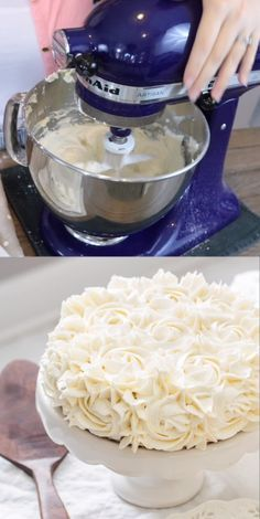 The Best Fluffy Buttercream Frosting, light as air and not too sweet! fr… The Best Fluffy Buttercream Frosting, airy and not too sweet! from ThisSillyGirlsKit … # Butter cream frosting Cake Decorating Videos, Cake Decorating Techniques, Cake Decorating Piping, Cake Piping Techniques, Birthday Cake Decorating, Fluffy Buttercream Frosting, Whipped Cream Frosting, Fluffy White Frosting, Cream Cheese Buttercream Frosting