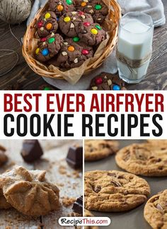 Airfryer Recipes | best ever Airfryer Cookie Dessert Recipes from RecipeThis.com