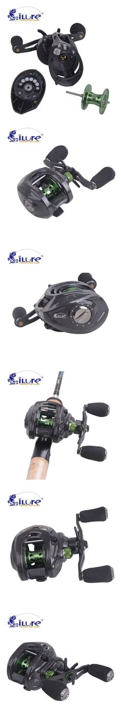 Top Quality iLure Carbon Super Light Brand 192.8g Smart Lef/Right Hand 10BB High Speed 6.4:1 Baitcasting Fishing Reel
