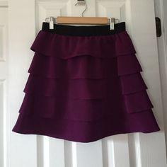 Pleated Purple Skirt Skirt Apt. 9 Skirts Midi