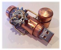 steam-punk flash drive~~
