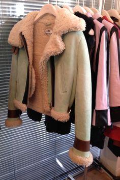 6151ea54f0e Acne Shearling Jacket Acne Shearling Jacket