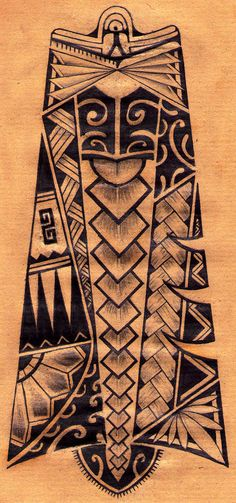 Maori Inspirated by ToxiMortis
