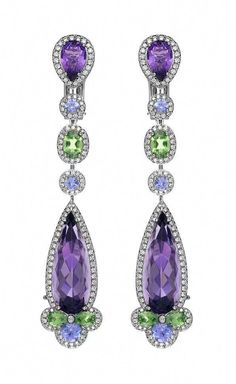 a1837b858d16 Chopard Temptations Earrings set with amethysts